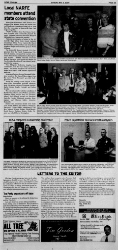 Athens News Courier, May 03, 2009, p. 9