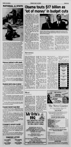 Athens News Courier, May 08, 2009, Page 6