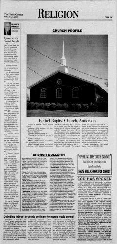 Athens News Courier, May 08, 2009, Page 22