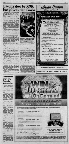 Athens News Courier, May 09, 2009, Page 9