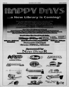 Athens News Courier, May 09, 2009, Page 12