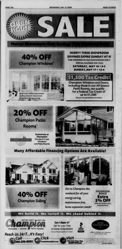 Athens News Courier, May 13, 2009, Page 32