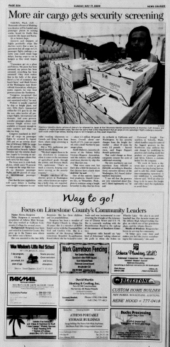 Athens News Courier, May 17, 2009, Page 43