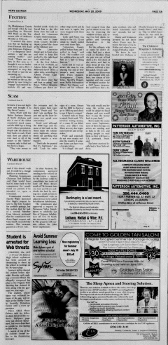 Athens News Courier, May 20, 2009, p. 9