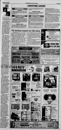 Athens News Courier, May 20, 2009, p. 17