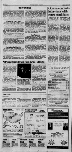 Athens News Courier, May 21, 2009, p. 3