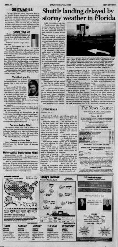 Athens News Courier, May 23, 2009, p. 3