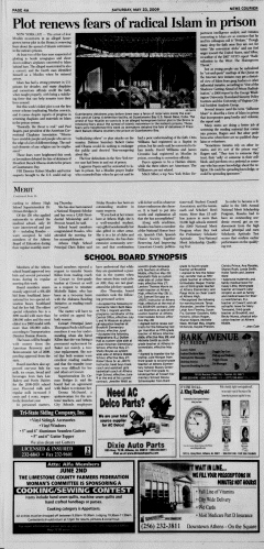 Athens News Courier, May 23, 2009, p. 7