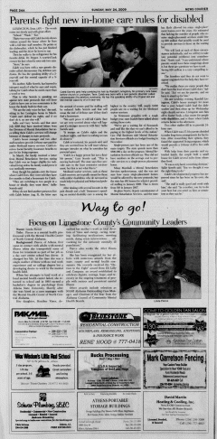 Athens News Courier, May 24, 2009, Page 47
