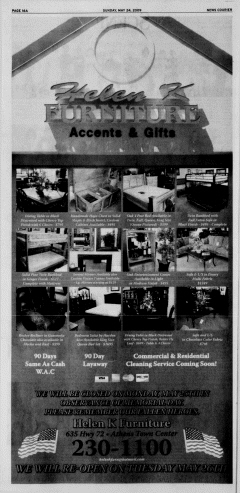 Athens News Courier, May 24, 2009, Page 32