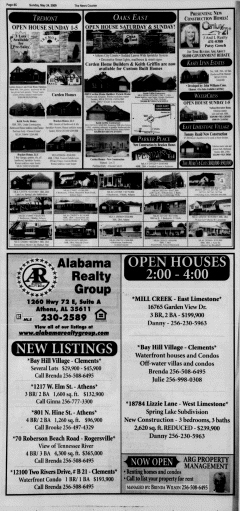 Athens News Courier, May 24, 2009, Page 84