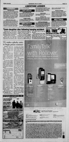 Athens News Courier, May 27, 2009, Page 13