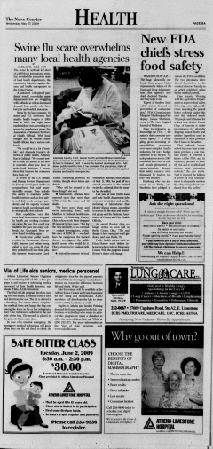 Athens News Courier, May 27, 2009, Page 15