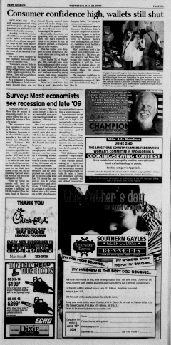 Athens News Courier, May 27, 2009, Page 21