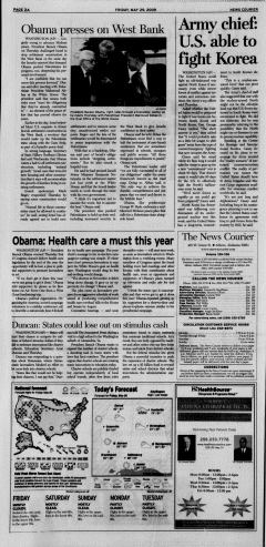 Athens News Courier, May 29, 2009, p. 3