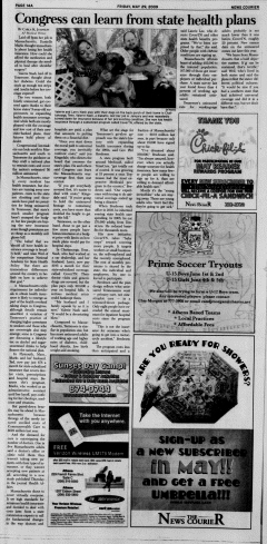 Athens News Courier, May 29, 2009, Page 27