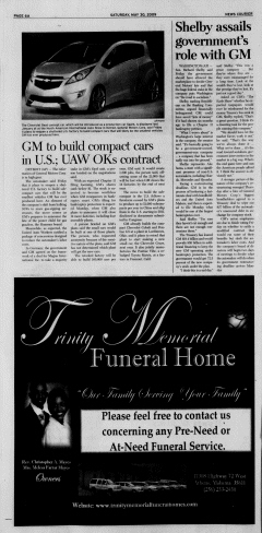 Athens News Courier, May 30, 2009, Page 11