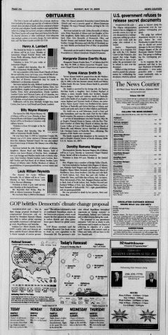Athens News Courier, May 31, 2009, p. 3