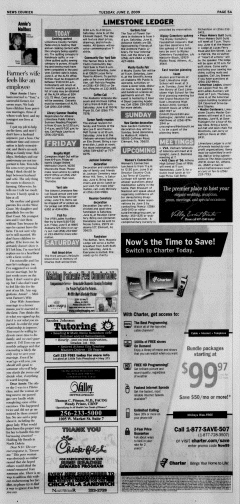 Athens News Courier, June 02, 2009, Page 12