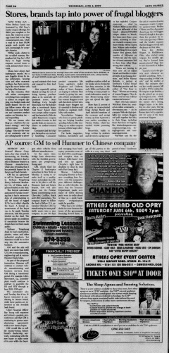 Athens News Courier, June 03, 2009, p. 11