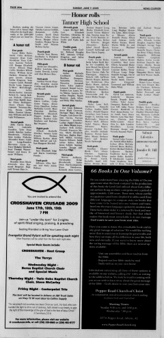 Athens News Courier, June 07, 2009, Page 39