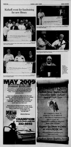 Athens News Courier, June 07, 2009, Page 32