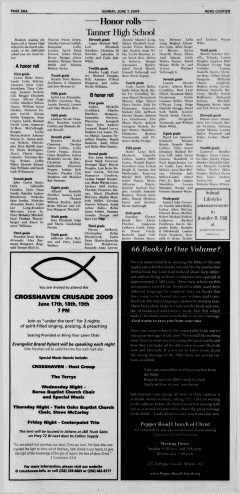 Athens News Courier, June 07, 2009, Page 40