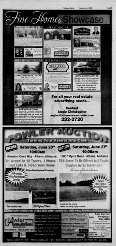 Athens News Courier, June 07, 2009, Page 62