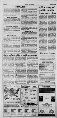 Athens News Courier, June 12, 2009, Page 4