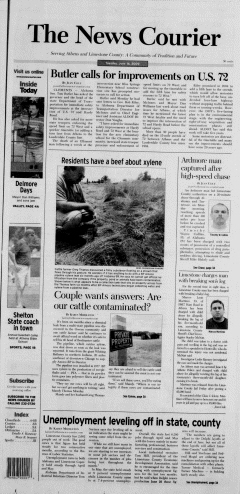 Athens News Courier, June 16, 2009, Page 1