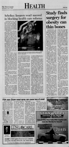 Athens News Courier, June 17, 2009, Page 15