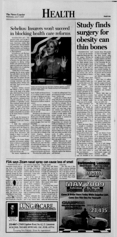 Athens News Courier, June 17, 2009, Page 16