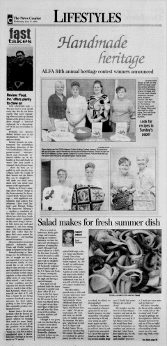 Athens News Courier, June 17, 2009, Page 34