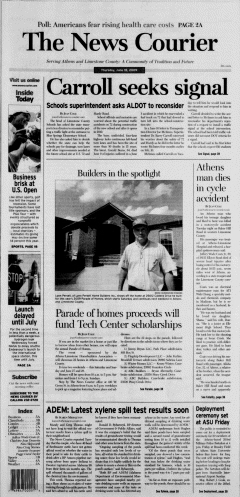 Athens News Courier, June 18, 2009, Page 2