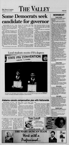 Athens News Courier, June 18, 2009, Page 8