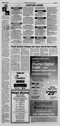 Athens News Courier, June 18, 2009, Page 14