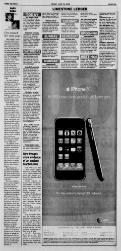 Athens News Courier, June 19, 2009, Page 26