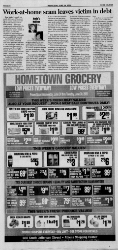 Athens News Courier, June 24, 2009, Page 43
