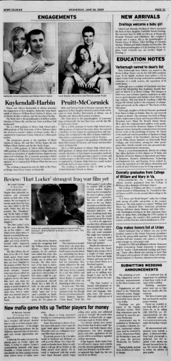 Athens News Courier, June 24, 2009, Page 45