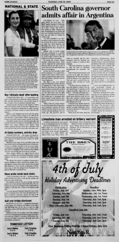 Athens News Courier, June 25, 2009, Page 5
