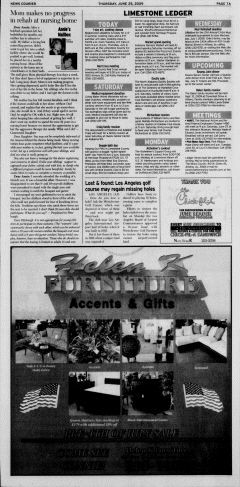 Athens News Courier, June 25, 2009, Page 13