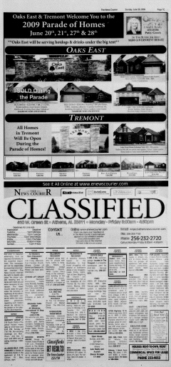 Athens News Courier, June 28, 2009, Page 129
