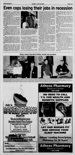 Athens News Courier, June 28, 2009, Page 42