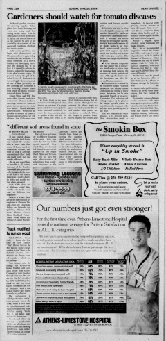 Athens News Courier, June 28, 2009, Page 44
