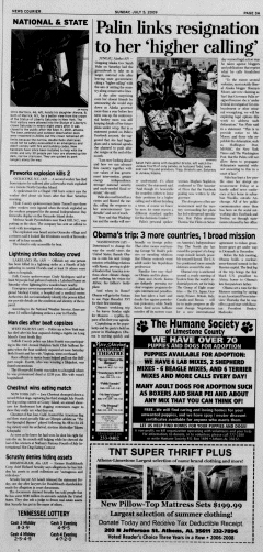 Athens News Courier, July 05, 2009, p. 5