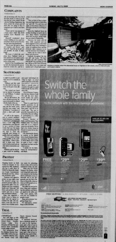 Athens News Courier, July 05, 2009, p. 15