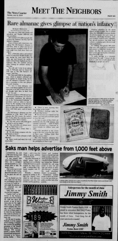 Athens News Courier, July 12, 2009, Page 27