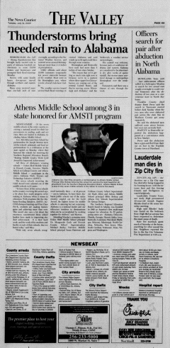 Athens News Courier, July 14, 2009, Page 7