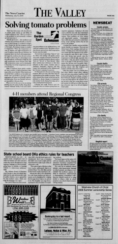 Athens News Courier, July 15, 2009, p. 7