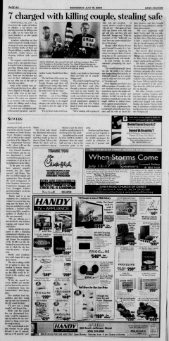 Athens News Courier, July 15, 2009, p. 11